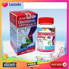 Hộp 100 viên Nhập Khẩu Mỹ] Viên uống bổ xương khớp Glucosamine 2000mg – Giảm đau nhức mỏi khớp, giảm thoái hóa khớp