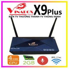VINABOX X9 PLUS – THIẾT KẾ ĐẲNG CẤP – CẤU HÌNH MẠNH MẼ – 4K HDR