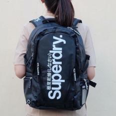 Balo laptop Superdry Classic vải Tarpaulin trượt nước