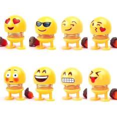 Bộ Đồ Chơi 8 Con Emoji Lò Xo – Đồ Chơi Văn Phòng – Có Miếng Dán 3M – Trang Trí Bàn Học, Xe Hơi,..