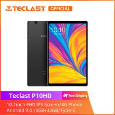 [Teclast Official] Máy tính bảng P10HD/ Màn hình IPS HD 10,1 inch/ Điện thoại di động sim 4G LTE/ CPU 8 nhân SC9863A/ Hệ điều hành Android 9.0 với bộ tăng tốc AI/ 3GB +32GB/ Bluetooth 5.0/ Băng tần kép WiFi