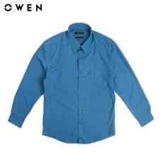 OWEN – Áo sơmi Dài tay Regularfit màu Xanh AR80915D