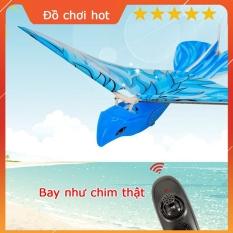 Đồ Chơi Trẻ Em Chim Bay Điều Khiển Từ Xa E-Bird, Máy Bay Đồ Chơi Hình Chú Chim, Bay Như Chim Thật, Tần Số Bay Cao 2.4Gz