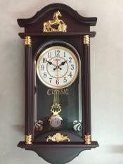 [MẪU BÁN CHẠY NHẤT] Đồng hồ quả lắc sang trọng – Tặng kèm pin