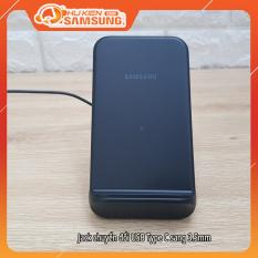 Đế sạc không dây siêu nhanh Samsung EP-N3300, sạc được hai chế độ đứng và nằm linh hoạt, tương thích với tất cả sản phẩm có chế độ QI