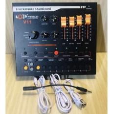 Sound card thu âm AQTA V11 đa năng livestream