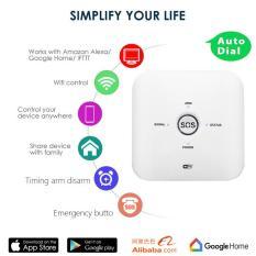 Bộ cảm biến an ninh thông minh Security Kit Tuya, Hoạt động tốt với Alexa và Google home, GỌI TRỰC TIẾP QUA SIM VIỆT NAM
