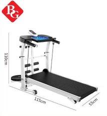(ẢNH THẬT & VIDEO) BG -Máy chạy bộ cơ (KHÔNG SỬ DỤNG ĐIỆN) đa năng mẫu mới Treadmill SH – S306 5 in 1