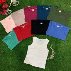 Combo 5 áo thun ba lỗ cotton 4c cho bé trai và bé gái
