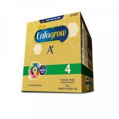 DATE 2022-Sữa Bột Enfagrow A+ 4 hộp giấy 2.2kg