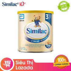 [Siêu thị Lazada] [FREESHIP TOÀN QUỐC TỪ 399K] Sữa bột Similac Eye-Q 3 HMO 400g Gold Label cung cấp nguồn dinh dưỡng đầy đủ cho bé phát triển toàn diện