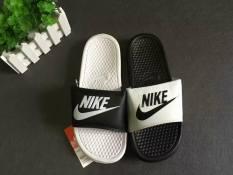 [Siêu Rẻ] Dép Nike Thời Trang Nam Đen Trắng [Full Hộp]