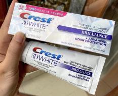 Kem đánh răng Siêu trắng Crest 3D White Brillance USA 116g – 20ml hàng Tmall(bản Mỹ)