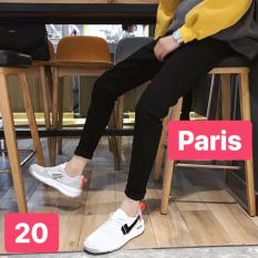 QUẦN JEAN NAM ĐEN TRƠN SOÁI KA NEW DESIGN 2019 PR-CJ20 CAO CẤP – PARIS FASHION