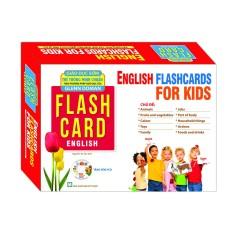 Sách – English Flashcards For Kids (Bộ Thẻ Tiếng Anh)- Dạy Trẻ Theo Phương Pháp Glenn Doman