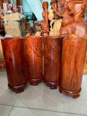 Ống đựng nhang gỗ hương cao 25cm