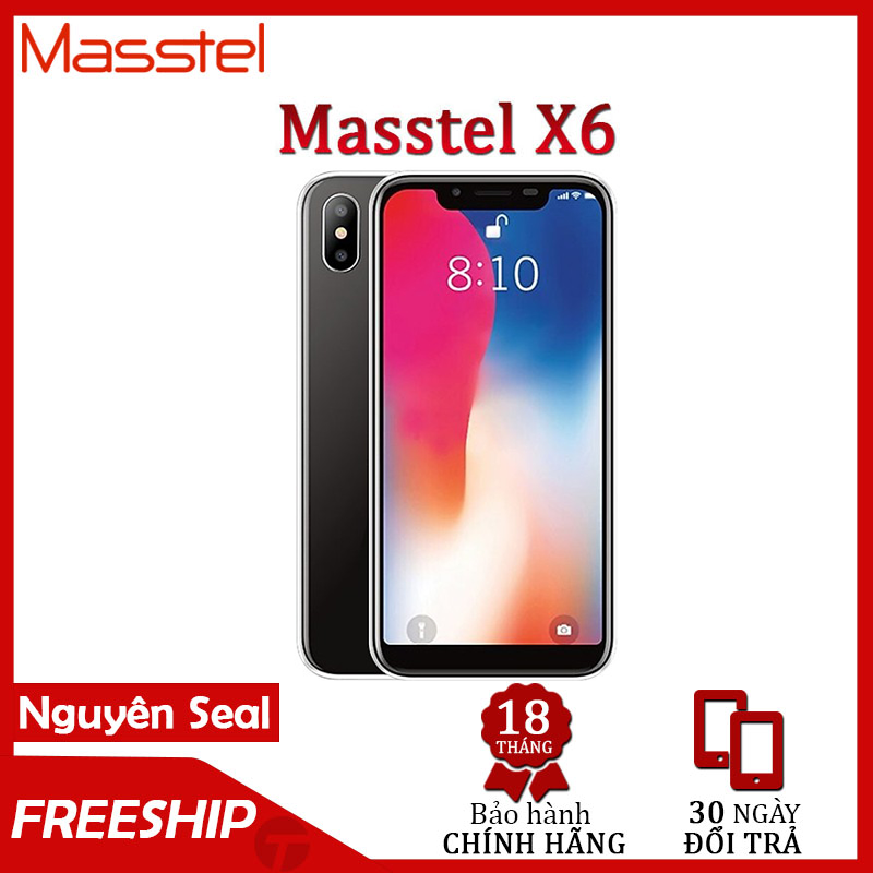 [SALE SỐC] MASSTEL X6 – 1Gb/16Gb – Smartphone Việt GIÁ RẺ, CAMERA KÉP, MÀN HÌNH TAI THỎ