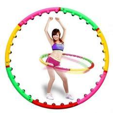 Vòng lắc eo giảm cân massage thon gọn 98cm,sản phẩm Với 40 nam châm nệm lồi ra dùng để luyện tập ở nhà,phòng gym,tập yoga tiện ích