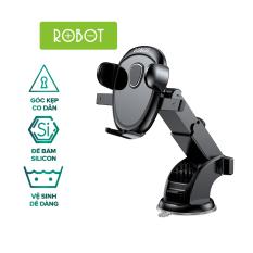 Giá Đỡ Điện Thoại Xe Hơi Ô Tô ROBOT RT-CH11S Phù Hợp Điện Thoại 4.0-6.5 inch Xoay 360 Độ Chắc Chắn Chống Rung Lắc l HÀNG CHÍNH HÃNG