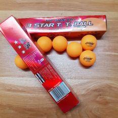 Quả bóng bàn dhs 3 sao hộp 6 quả (thi đấu), sản phẩm tốt với chất lượng, độ bền cao và được cam kết sản phẩm y như hình