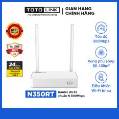 Cục phát Wifi TOTOLINK – Router Wi-Fi chuẩn N 300Mbps N350RT