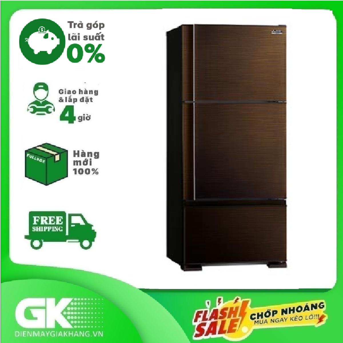 [GIAO HÀNG 2 – 15 NGÀY, TRỄ NHẤT 30.09] Tủ lạnh Mitsubishi Electric MR-V50ER-BRW-V 414 lít Mới 2021