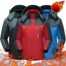 Áo khoác chống thấm lót lông, 3 lớp dày dặn, siêu ấm