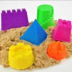 [HCM]Khuôn lâu đài NHỎ – Bộ khuôn chơi Cát động lực – khuôn tạo hình cát dẻo – cát vi sinh – đất nặn – Smart baby