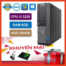Máy Tính Để Bàn Đồng Bộ Dell Optiplex (Core i3 3220 /8G /500G) – Máy Tính Văn Phòng – Bảo Hành 24 Tháng – Tặng USB Wifi Và Bàn Di.