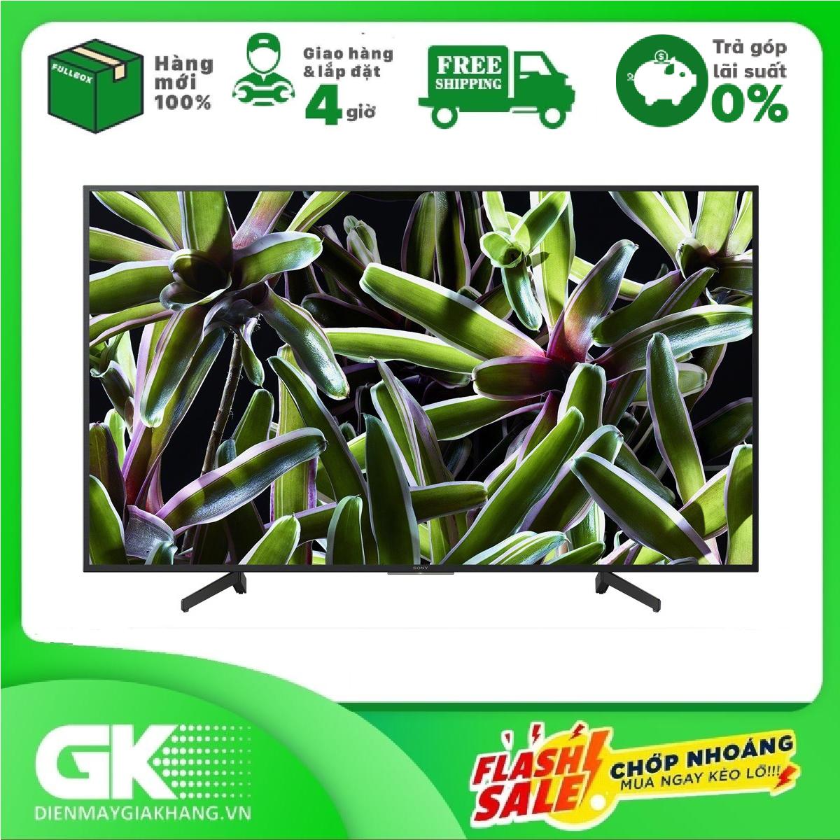 TRẢ GÓP 0% – Smart Tivi Sony 4K 55 inch KD-55X7000G Mẫu 2019 – Hàng mới 100% – BTRẢo hành 24 tháng