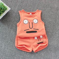 Đồ bé trai -Quần áo bé trai chất liệu cotton mềm mịn thoáng mát in hình dễ thương (6-16kg)