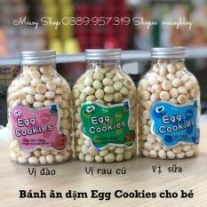 Bánh ăn dặm Egg Cookies cho bé, sản phẩm dành cho bé từ 6 tháng tuổi trở lên, thời gian hỗ trợ bảo hành là 12 tháng