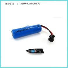 Pin sạc Li-ion 3.7v 14500 800mah 3.7V cho đồ chơi xe ô tô điều khiển từ xa,xe địa hình điều khiển từ xa