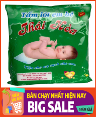 Tấm lót phân su sơ sinh 3 lớp Thái Hòa (200gram – 35 tờ)