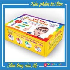 Bộ 416 thẻ học flashcard thông minh song ngữ Anh – Việt cho bé, 16 chủ đề, có phiên âm, giúp bé phát triển ngôn ngữ