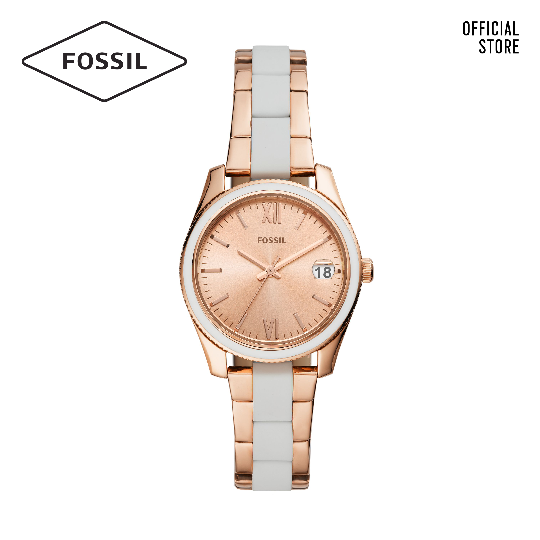Đồng hồ nữ FOSSIL dây thép không gỉ Scarlette ES4589 – màu nhiều màu