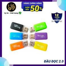 [Nhập ELJAN11 giảm 10%, tối đa 200k, đơn từ 99k]Đầu đọc thẻ nhớ MicroSD cổng USB 2.0 Vỏ nhựa tốc độ đọc siêu nhanh