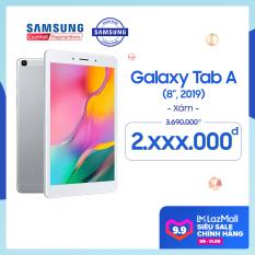 [SALE 9-11.9] Máy tính bảng Galaxy Tab A SM-T295 32GB (2GB RAM) 2019 – Màn hình 8 inch, tỷ lệ 16:10 Full HD + Trọng lượng chỉ 347g mỏng nhẹ + Hỗ trợ thẻ nhớ đến 512GB + Pin 5100 mAh – Hàng phân phối chính hãng.