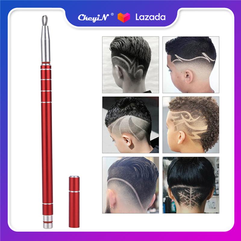 Ckeyin Chuyên Nghiệp Tóc Khắc Bút Tạo Kiểu Tóc Lông Mày Râu Cạo Bút Barber Salon Khắc Bút RC004