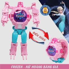 Đồ chơi trẻ em – đồng hồ đeo tay cho bé biến hình robot siêu nhân anh hùng có đèn ZL8525 – Đồng hồ trẻ em – Đồ khuyến mãi giá tốt