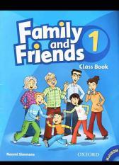 Family and friends 1 ( sách học + bài tập + CD)