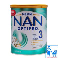 Sữa Bột Nestlé NAN Optipro 3 – Hộp 900g (Dành cho trẻ 1~2 tuổi)