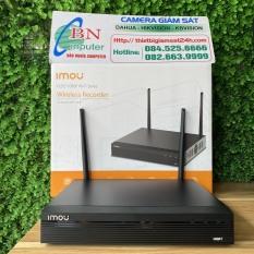 Đầu Ghi Hình Wifi 4 Kênh IMOU NVR1104HS-W-S2 Đầu Ghi Wifi Tự Động Kết Nối Độ Phân Giải 2.0MP