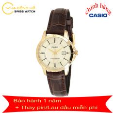 Đồng Hồ, Đồng Hồ Nữ Casio LTP-V004GL-9AUDF