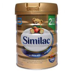Sữa bột Similac HMO 2 Lon 900g (bé 6-12 tháng tuổi) – HSD luôn mới
