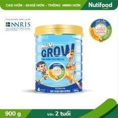 Sữa Bột NUVI GROW STEP 4 900g_PHÁT TRIỂN CHIỀU CAO- [TRỢ PHÍ VẬN CHUYỂN]