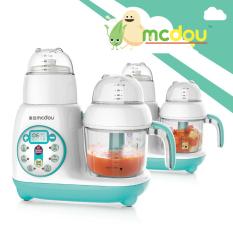 [Bảo hành 12 THÁNG] Máy chế biến thức ăn dặm 7 in 1 McDou kèm nấu cháo (Nhãn hiệu Thái Lan), xay xong là có thể nấu cháo cho bé ăn ngay !