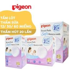 Tấm lót thấm sữa Pigeon 12 miếng / 30 miếng / 50 miếng