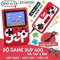 Máy Chơi Game Cầm Tay SUP MINI 400 in 1 (2 người chơi), Máy Chơi Game Sup, Máy Game Cầm Tay ( MÀU NGẪU NHIÊN ) )