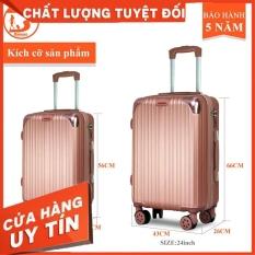 Vali Du Lịch BAMOZO 8801 Size 20cm , Vali Kéo Nhựa Được Bảo Hành 5 Năm